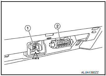 Nissan Rogue Service Manual: Instrument lower panel LH