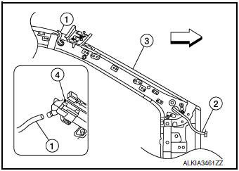 Nissan Rogue Service Manual: Moonroof unit assembly