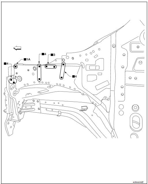Nissan Rogue Service Manual: Replacement operations