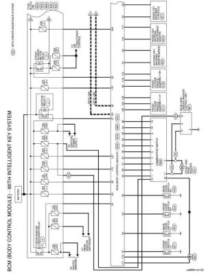 Nissan Rogue Service Manual: Wiring diagram  With