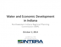 Water & Economic Development in Indiana (Oct 2014)