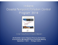 Indiana Coastal Nonpoint Pollution Control Program (Sep 2016)