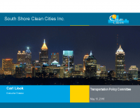 South Shore Clean Cities Overview – 5.10.2016