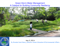City of Gary Green Infrastructure (May 2016)