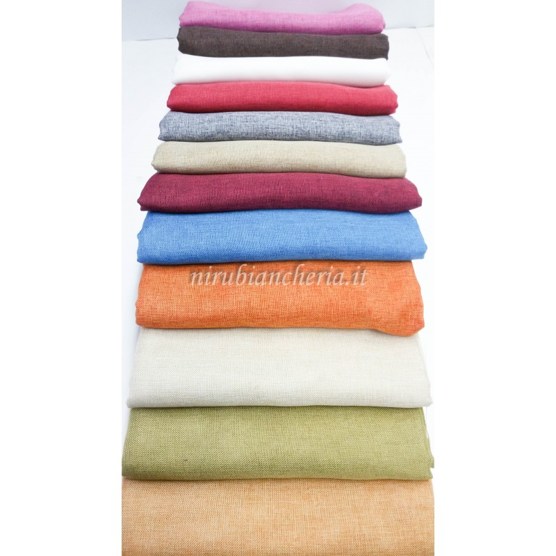 tessuti per divani, ecco una guida utile per sceglierli. Scampolo Tessuto Linone 270x280 Cm Tinta Unita Per Tappezzeria A421