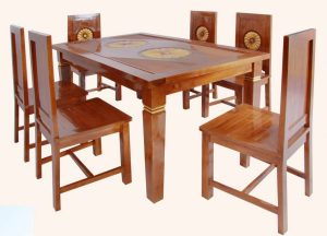 Meja Makan Matahari | Nirwana Furniture