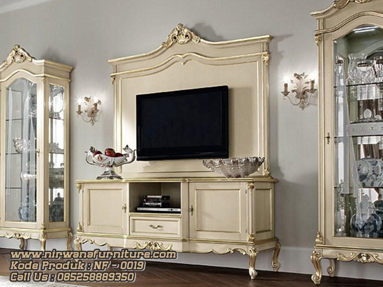 Bufet Tv Meja Tv Model Klasik Terbaru