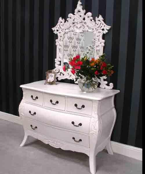 Meja Consule Miror duco | Nirwana Furniture