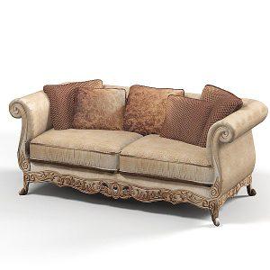 Kursi Sofa Ukir Brown | Nirwana Furniture