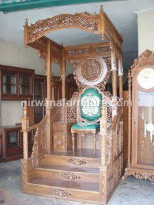 Mimbar Masjid Kaligrafi | Nirwana Furniture