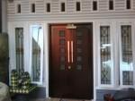 Pintu Rumah Kayu Jati Minimalis