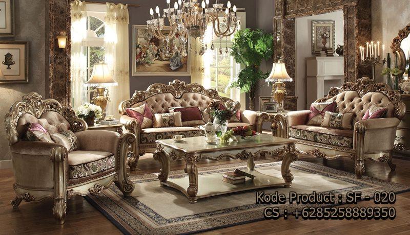 Sofa Ruang Tamu Mewah Model Terbaru