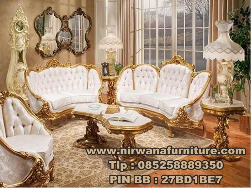 Desain Sofa Ruang Tamu - Jual Sofa Ukiran Mewah