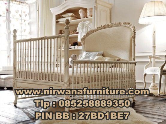Desain Tempat Tidur Bayi Ukiran Mewah | Jual Box Bayi Ukiran