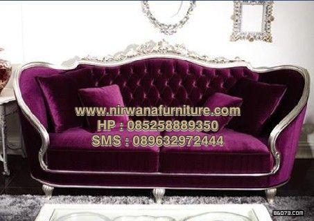 Sofa Ukiran Model Bundar