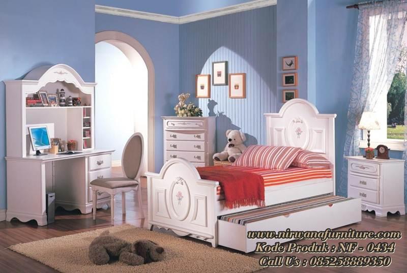Tempat Tidur Anak Model Princes