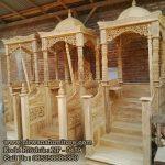 Mimbar Masid Kayu Jati Ready Stock