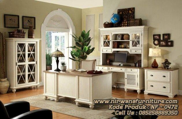 Home Office Meja Kerja Minimalis Modern