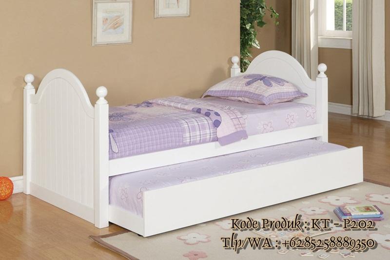 tempat tidur anak minimalis untuk anak perempuan