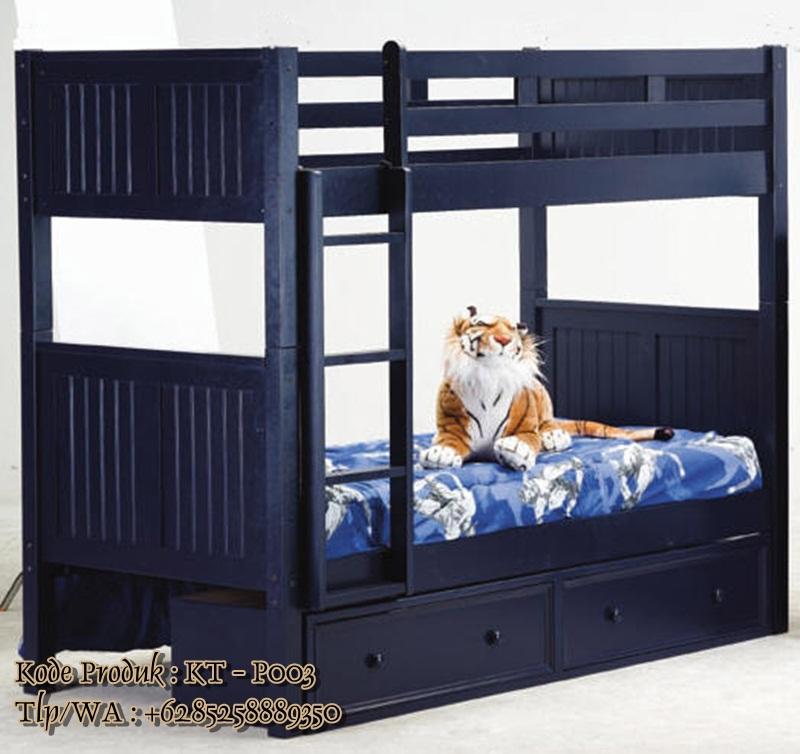 tempat tidur susun minimalis modern