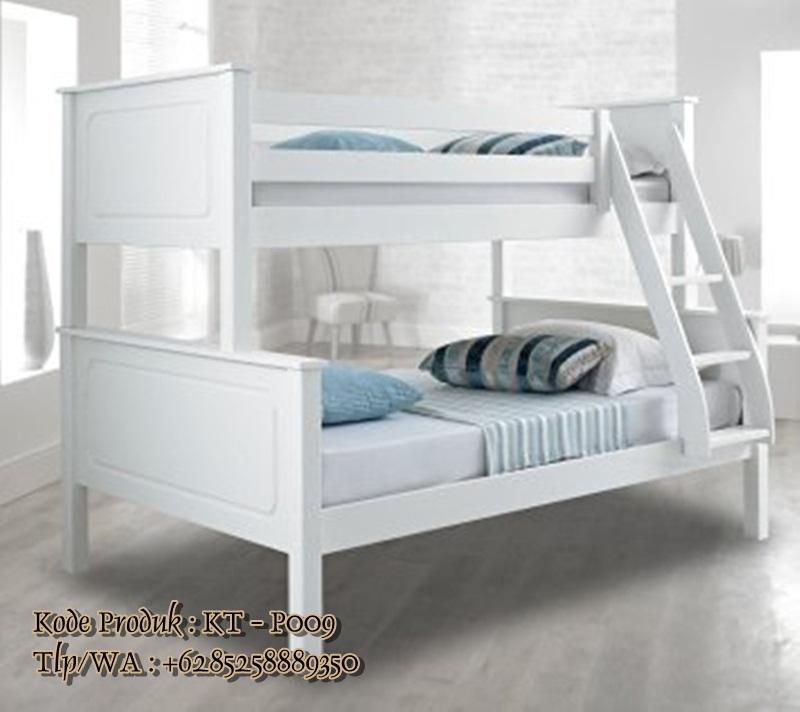tempat tidur susun cat duco