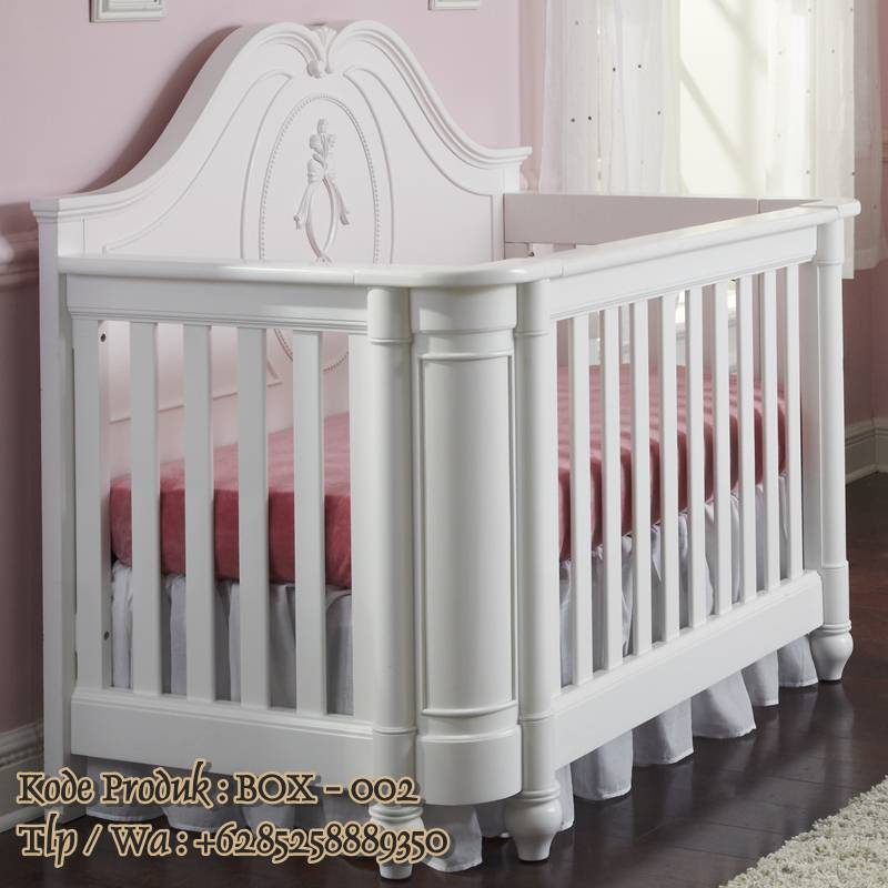 tempat tidur bayi cat duco