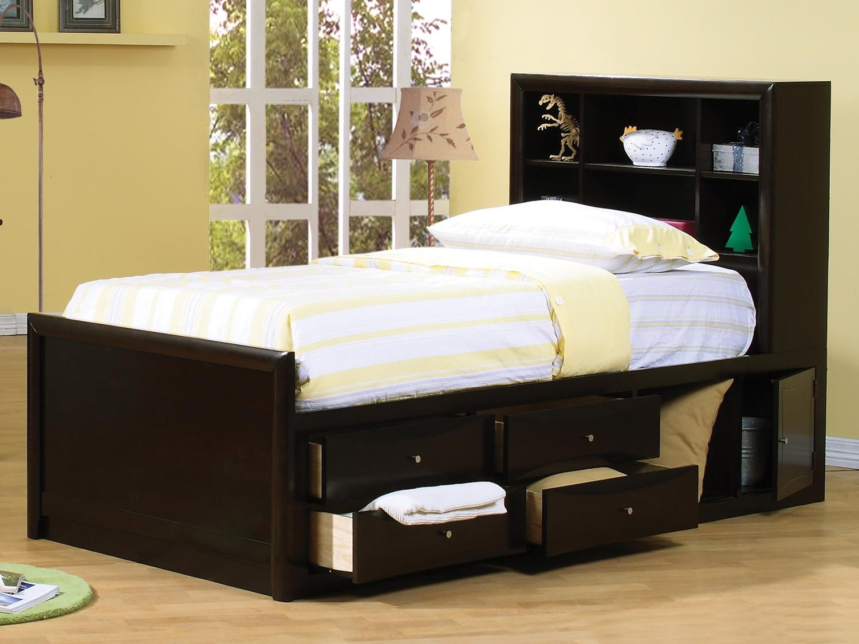 tempat tidur anak minimalis laci