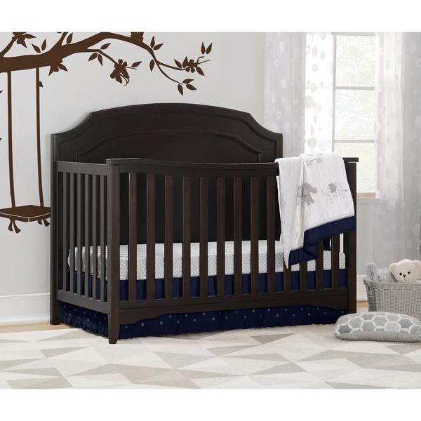 tempat tidur bayi minimalis kayu jati tua