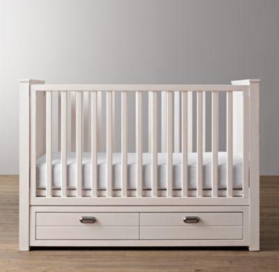 box bayi minimalis cat duco putih