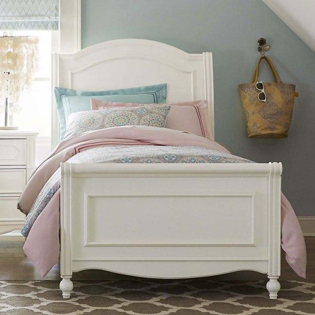 tempat tidur anak perempuan model klasik minimalis