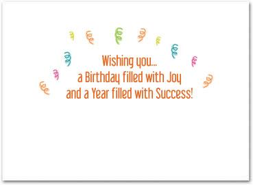 Business Birthday Cards Employee Birthday Cards