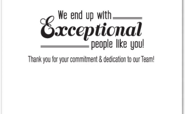 Employee Appreciation Card Business Greeting Cards