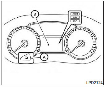 Nissan Sentra Owners Manual: Speedometer and odometer