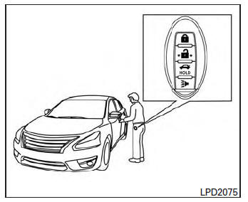 Nissan Sentra Owners Manual: NISSAN Intelligent Key