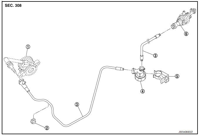Service manual [Removing Clutch Cylinder Pin On A 1994