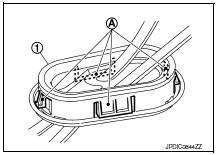Nissan Sentra Service Manual: Removal and installation