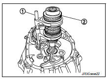 Nissan Sentra Service Manual: Unit disassembly and