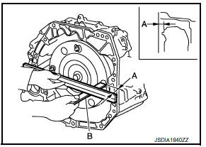 Nissan Sentra Service Manual: Unit removal and