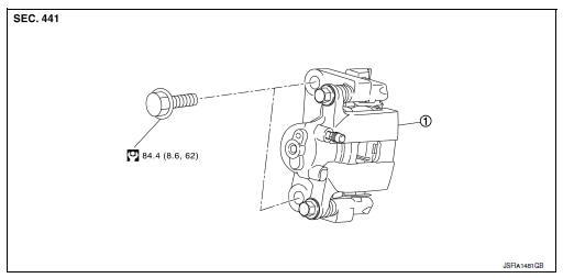 Nissan Sentra Ke Caliper Diagram. Nissan. Auto Parts