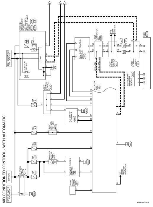 2013 Nissan Sentra Wiring Diagram Nissan Sentra Service Manual Wiring Diagram Automatic