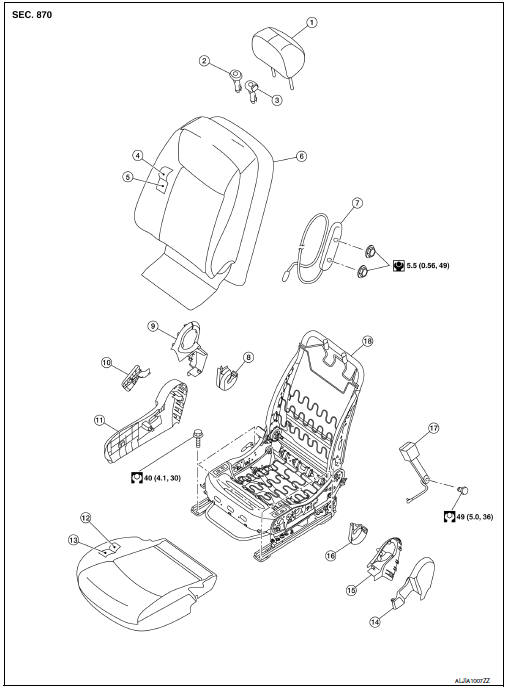 Service manual [Tilt Schmatica Manual Seat In A 2007
