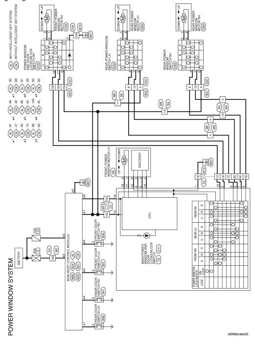system wiring diagram for door