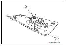 Nissan Sentra Service Manual: Rear power window switch