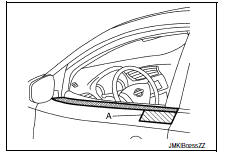 Nissan Sentra Service Manual: Door outside molding