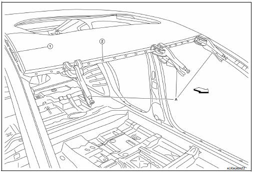 Nissan Sentra Service Manual: Replacement operations