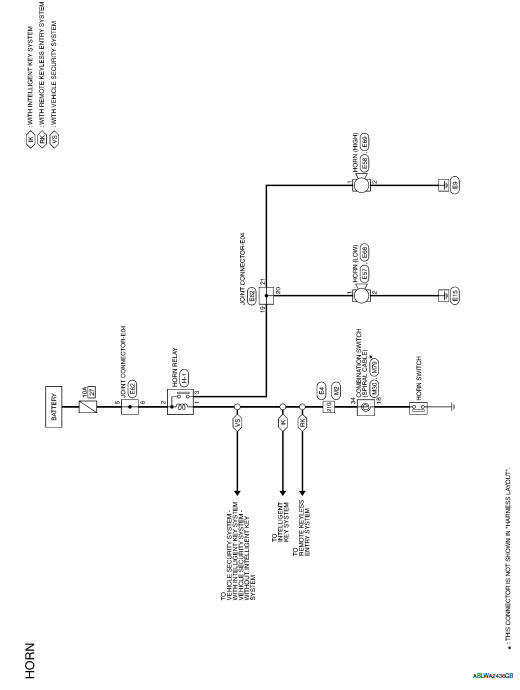 [DIAGRAM] 2009 Nissan Sentra Horn Wire Diagram FULL