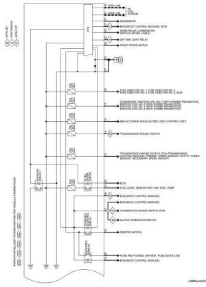 Nissan Sentra Service Manual: Wiring diagram  IPDM ER
