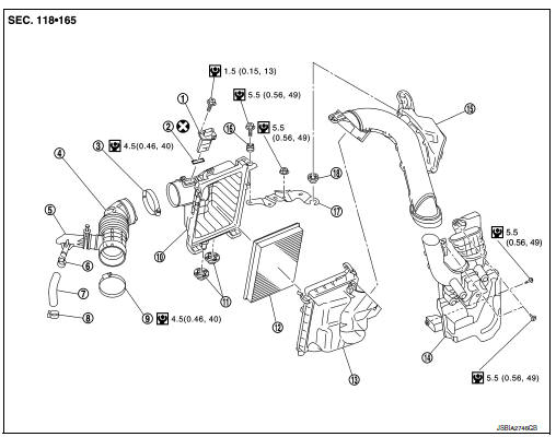 Nissan Sentra Service Manual: Engine maintenance