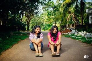 Shivani and Swapna. Parkala, near Manipal. November 2013.