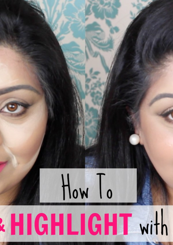 How To Contour & Highlight With Supercover